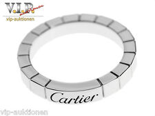 Cartier La bague Lanieres 950 Anello Fede Nuziale Platino wedding band Platinum