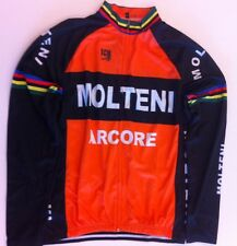 Molteni Eddy Merckx Retro Long Sleeve Jersey XL