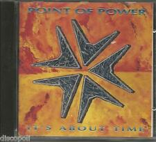 POINT OF POWER - It's about time - CD 1992 MINT CONDITION