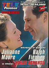 TELE PROGRAM 2000/15 (14/4/2000) RALPH FIENNES JULIANNE MOORE PFEIFFER SPACEK(2)