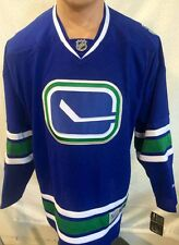 Reebok Premier NHL Jersey Canucks Team Blue Alternate sz 4X