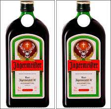C281 Jagermeister Cornhole Board Wrap LAMINATED Wraps Decals Vinyl Sticker
