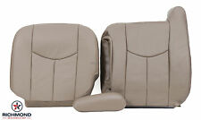 2003-2007 GMC Sierra SLT HD Z71 -Driver Side Complete Leather Seat Covers TAN