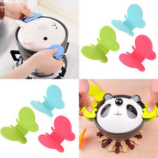 1Pcs Practical Random Butterfly Shaped Silicone Anti-Scald Devices Kitchen Tool