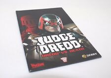 Judge Dreed, dredd vs Death Manual instructions  ps2 playstation 2