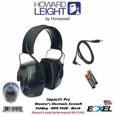 Howard Leight #R-01902 Impact Pro Electronic Hearing Protection, Earmuffs