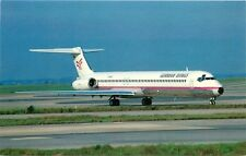 GERMAN WINGS AIRLINE McDONNELL DOUGLAS MD-83 POSTCARD