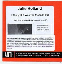 (FI20) Jolie Holland, I Thought It Was The Moon - 2014 DJ CD