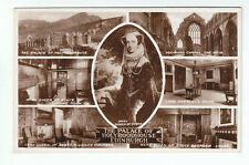 Mary Queen Of Scots Palace Of Holyroodhouse Edinburgh 1933 Real Photograph