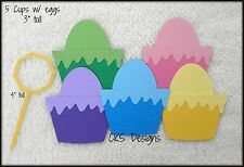 Die Cut Coloring Easter Eggs Dye Paint Scrapbook Embellishment Paper Piecing