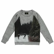 FINGER IN THE NOSE | HANK GREY SKATERS | BOYS SWEATER | 2XL | AGE 10-11 |146CM