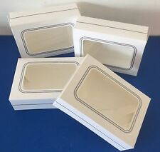 4 X White Window PETIT FOUR Cake Sweet Chocolate Boxes Christmas Truffles Xmas