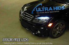 MERCEDES C Class W204 LED SIDELIGHTS NO WARNING ERRORS