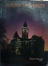 1999 HUGE 1996 PAGES  AUBURN UNIVERSITY ALUMNI DIRECTORY EXCELLENT CONDITION