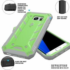 For Galaxy S7 Edge (2016) POETIC Revolution Series Premium Case Rugged Cover GN