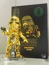 Limited! SDCC 2016 exclusive Star Wars Gold Sandtrooper Figure Beast kingdom