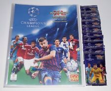 PANINI ADRENALYN CHAMPIONS LEAGUE 11/12 cartella + 10 OVP BOOSTER 2011/12
