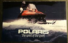 VINTAGE 1984 POLARIS SNOWMOBILE SALES BROCHURE 8 PAGES   (613)
