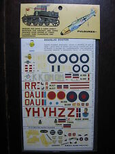 1/72  VINTAGE ESCI DECAL N°53  GB  DOUGLAS BOSTON LOOKEED HUDSON