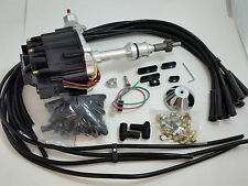 SBF Small Block Ford 260 289 302 HEI Ignition Black Distributor 50K Volt Kit V8