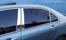 MITSUBISHI LANCER 02 03 04 05 06 07 REAL STAINLESS STEEL DOOR PILLARS 2007 2006