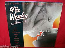 9 settimane e 1/2 9 1/2 Weeks OST LP 1986 ITALY MINT- Joe Cocker Devo Luba