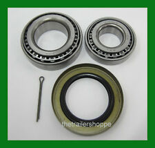 "Trailer Hub Wheel Bearing Kit 5200 & 7000# EZ Lube Axle 2.25"" Seal 25580 14125A"