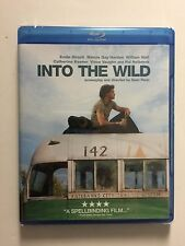 Into the Wild (Blu-ray Disc, 2008, Widescreen) NEW Cut UPC