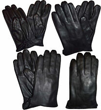 New Italian styled Men's leather dress gloves, Warm winter leather gloves BNWT+*