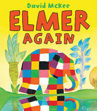 Elmer Again by David McKee (Paperback, 2010)
