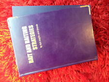 VERY RARE - BAIT & BAITING STRATEGIES BY ROB MAYLIN - LEATHERBOUND BOOK