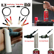 Portable DIY Car Autos Fuel Injector Flush Cleaner Adapter Cleaning Washing Tool