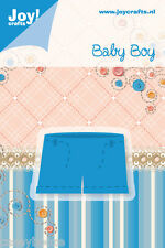 Joy Crafts Die Cutting & Embossing Stencil - Baby Boy - Shorts - 6002/0211 -SALE