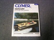 Clymer Mercury Outboard Shop/Repair Manual, 45-225 HP, 1972-1989, B726