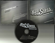 BOB SEGER Downtown Train 2011 USA PROMO DJ CD single TOM WAITS remake Cover trk