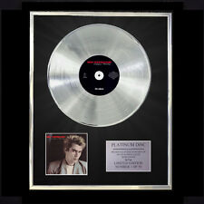 NIK KERSHAW HUMAN RACING  CD PLATINUM DISC VINYL LP FREE SHIPPING TO U.K.
