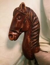 Children's Antique Barber Chair Horse Head