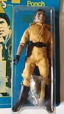 """Vintage 1977 Mego MGM CHIPS 8"""" Ponch Action Figure Factory sealed in package"""