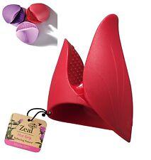 Zeal Hot Grip-Horno Mitt Aleatoria Colores-Rose Bud forma-Guante de Horno