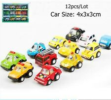 12pcs/Lot Baby Kids Car Model Educational Toys Fashion Toys Car Gifts For boys