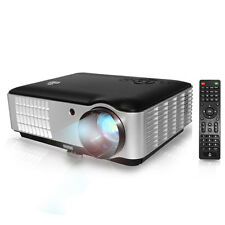 "Pyle PRJLE78HD 1080P Projector up to 200"" 2800 Lumens w Speaker + Ceiling Mount"