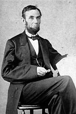 New 5x7 Civil War Photo: Portrait of President Abraham Lincoln in 1863