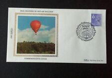 Benham SIlk - Mail Delivery by Hot-Air Balloon 1 Cover.