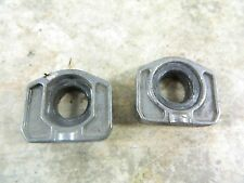 07 BMW G650 X G 650 Cross XCountry rear back axle adjuster chain tensioner block
