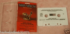 Cassette Tape Barry Manilow Tryin To Get The Feeling Case & Artwork, Made in USA