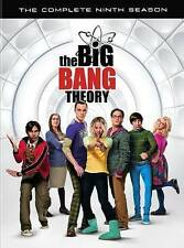 The Big Bang Theory Season 9 Nine Ninth Season DVD, 2016, 3 Disc SHIPS FREE