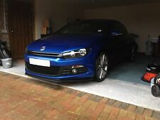 VW Scirocco MK 3 front Lip Spoiler Splitter body kit , PU Plastic.by HTAutos UK