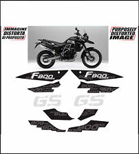 kit adesivi stickers compatibili f 800 gs triple black 2012