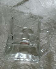 VINTAGE MINIATURE BEER MUG SHOT GLASS FEDERAL GLASS USA
