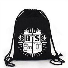 ElfunTM KPOP BTS Bangtan Boy Backpack BTS Casual Shoulder Bag String Bag